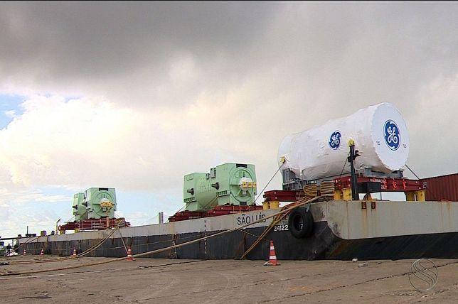 Sergipe: Transporte de turbinas interrompe SE-100